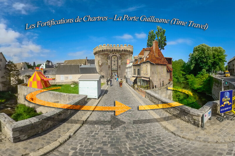 Les Fortifications de Chartres – La Porte Guillaume (Time Travel)