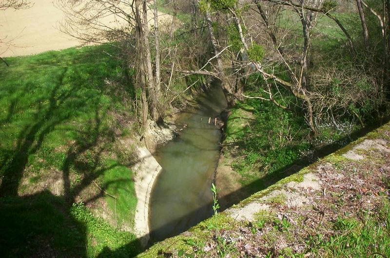La Gélise vue du pont