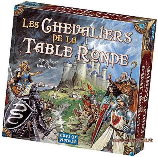 Boutique jeux de société - Pontivy - morbihan - ludis factory - chevaliers de la table ronde