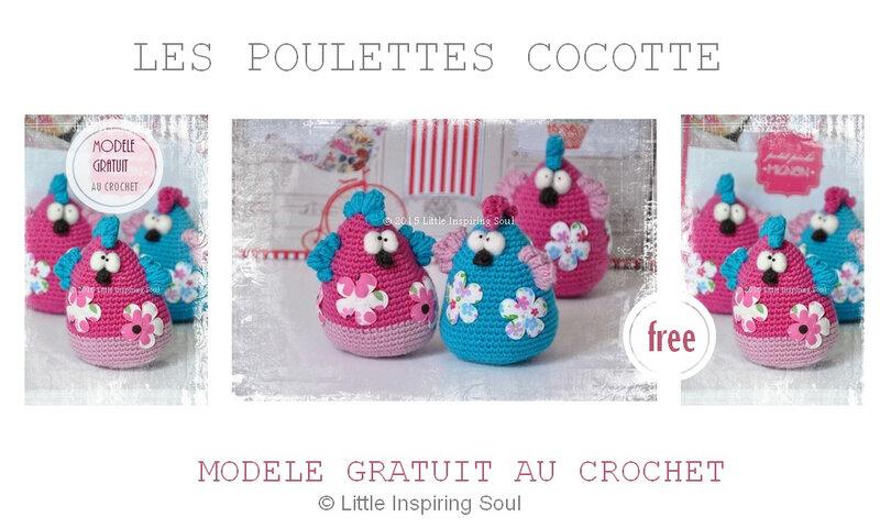 modèle gratuit au crochet Little inspiring soul