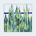 Aquarelle plante verte