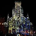 Biarritz, Biarritz en lumières 2018, église Sainte-Eugénie, Merveilleuse nature (64)