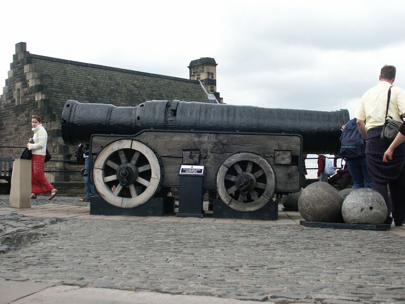 Edinburgh Castle août 2002