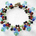 Bracelet La Fée Clochette Bleu