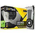 carte graphique zotac geforce gtx 1070 founders edition - 8 go