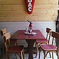 table et chaises bistrot