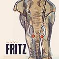 Un album évoque les mémoires de l'éléphant fritz