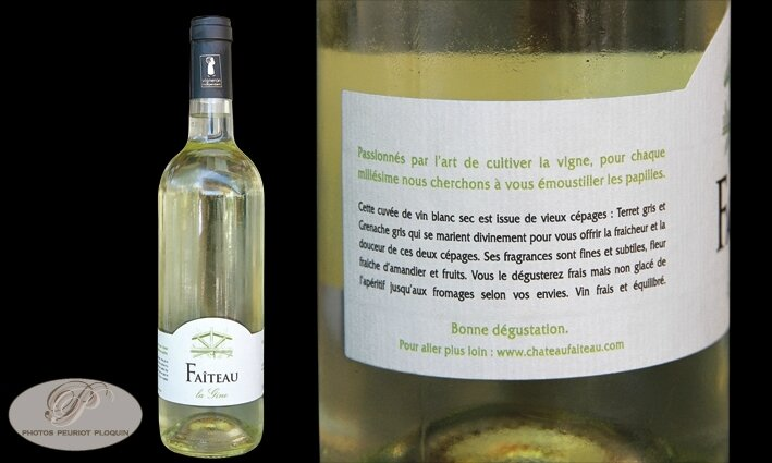 CHATEAU_FAITEAU_vin_blanc_sans_IG_de_l_Herault-_La_Liviniere_La_Gine