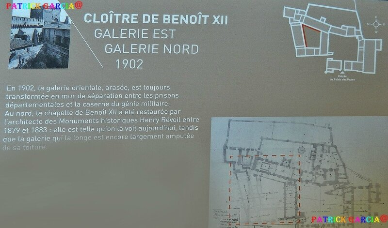 AVIGNON PALAIS INTERIEUR CLOITRE BENOIT 789 copie