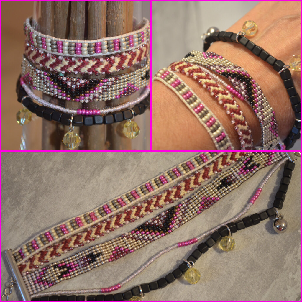 bracelet_rose_noir