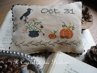 halloween cross stitch free point de croix