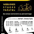 Stages 2014 ... à vos agendas !