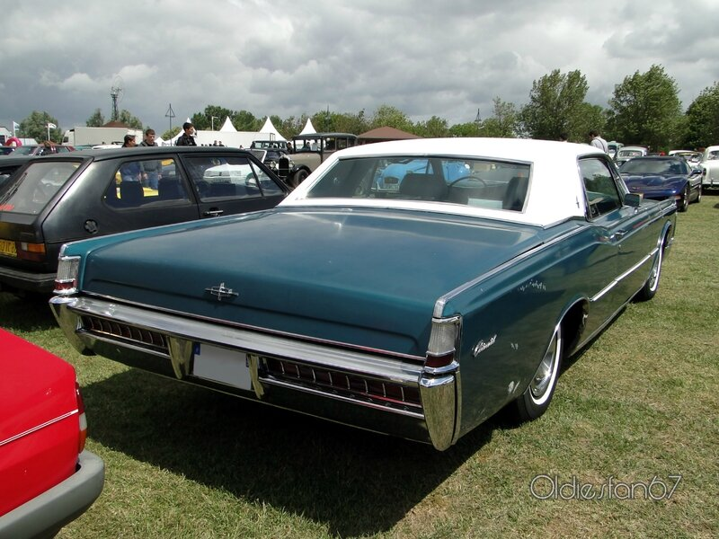 lincoln continental hardtop coupe 1969 b