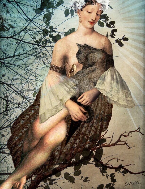 Catrin Welz-Stein - German Surrealist Graphic Designer - Tutt'Art@ (75)