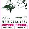 Feria de la crau 2017 - pontonx sur l'adour, la fraga 2017