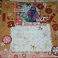 Calendrier scrap 2011 format 30x30