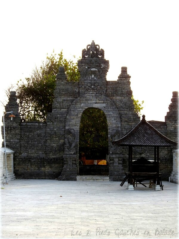 portail principal - uluwatu
