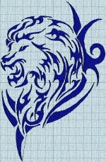 tribal03 lion machine