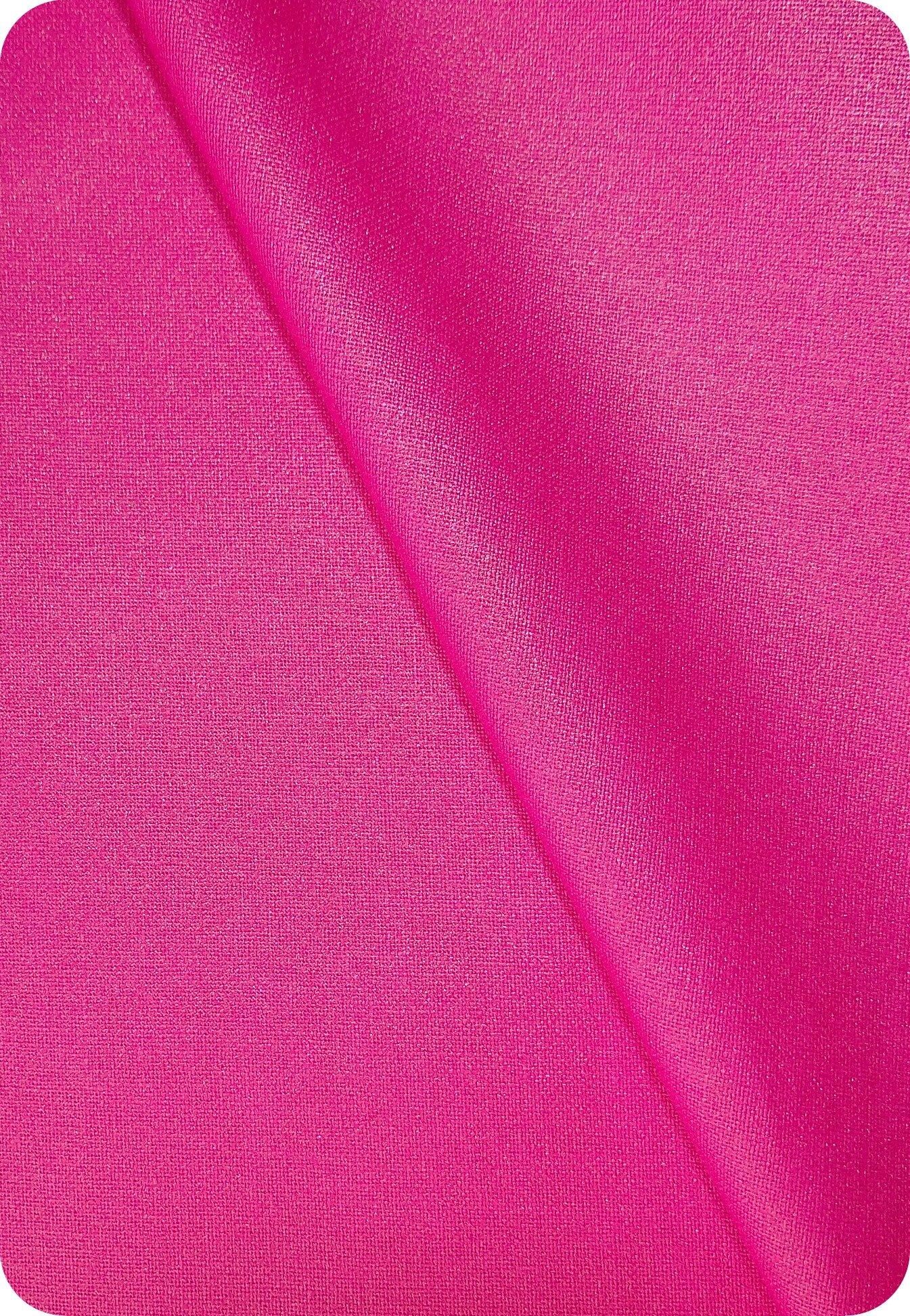 Tissu enduit rose fuchsia