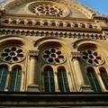 La Grande Synagogue de Paris rue la Victoire.