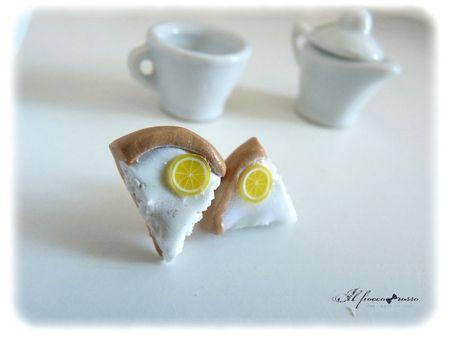 Boucle tarte au citron
