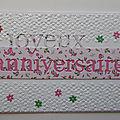 Ronde cartes anniversaires liste 2 décembre