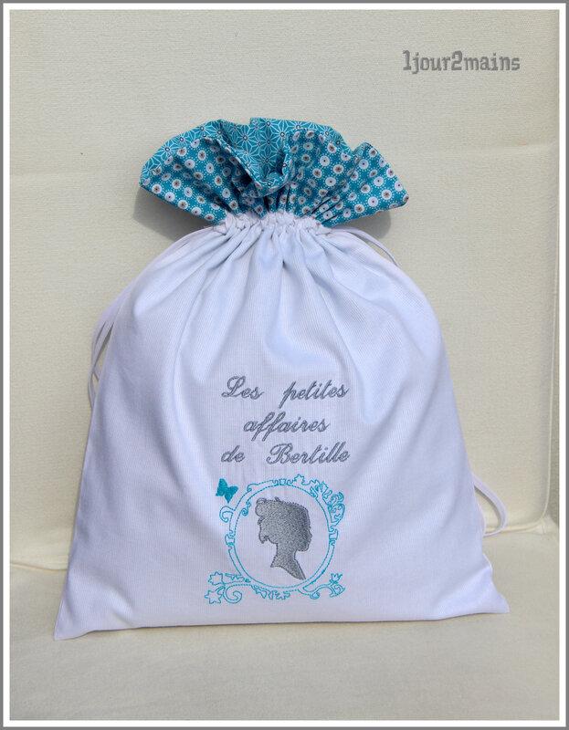 sac Bertille bleu