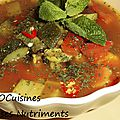 courgette tomate curry