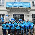 Bry-sur-marne => quelques images de la marche de soutien pour la journée mondiale de l'autisme