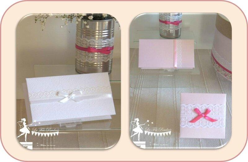 boite dragees mariage bapteme fiançailles urne rose fuchsia ruban dentelle lace chic elegante3