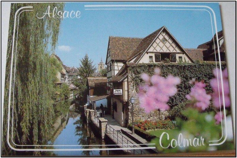 Colmar - la petite Venise sur les bords de la Lauch