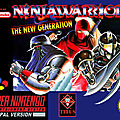 Ninja warrior sur super nintendo
