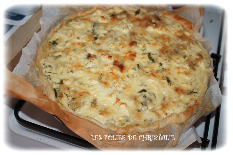Quiche courgettes 5