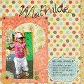 Mathilde... page digitale