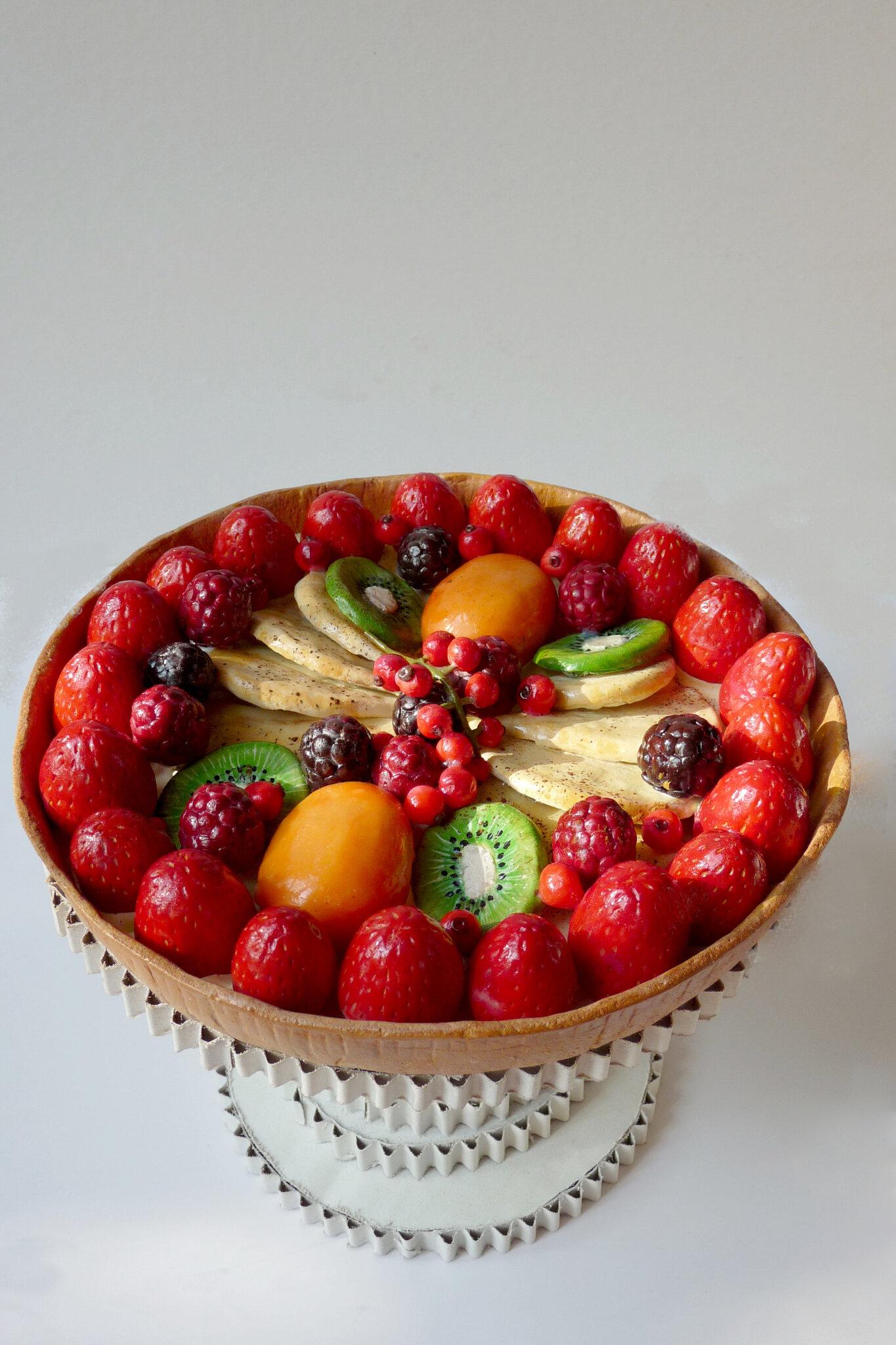 Tarte multi fruits 22,5 cm
