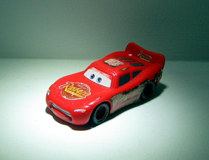 Flash McQueen (Mattel-Cars)
