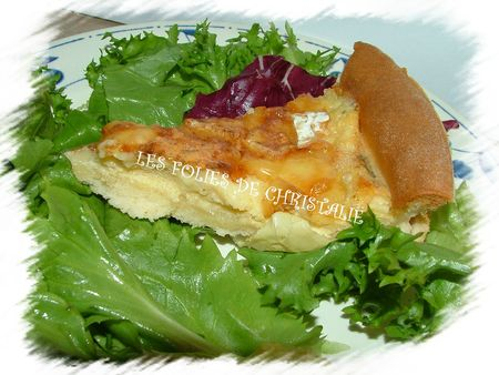 Tarte au coulommiers 8