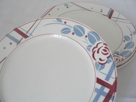 Beaujeu assiettes plates