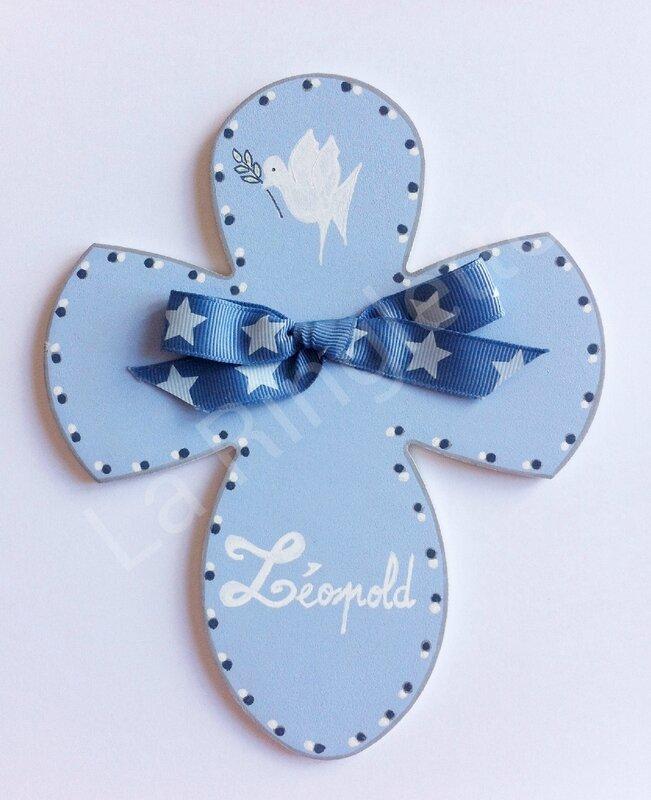 Croix Bleu Ciel Léopold