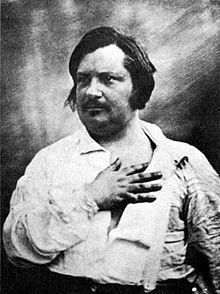 Balzac_daguerréotype 1842_Louis Auguste Bisson