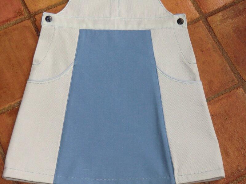 Ma robe salopette P&m 8 A 001