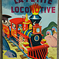 Livre collection ... la petite locomotive (1962) * jolly book *