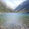 Lac de Gaube, lac et Vignemale
