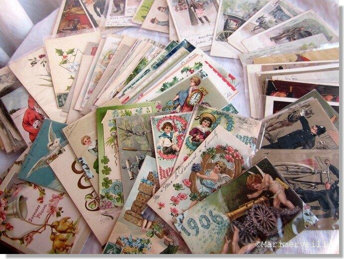 Collection Marimerveille de cartes anciennes chinées 1