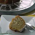 Gâteau au citron et à la noix de coco, sans gluten et sans lactose