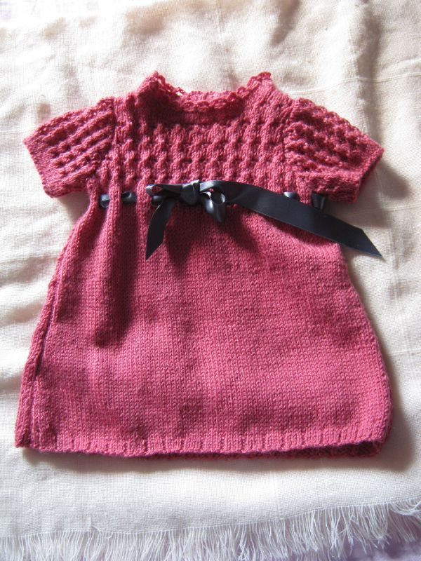 Robe fillette en laine