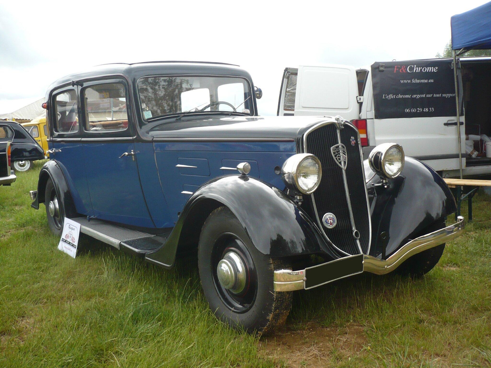 PEUGEOT 601 CR berline 1934 Madine (1)