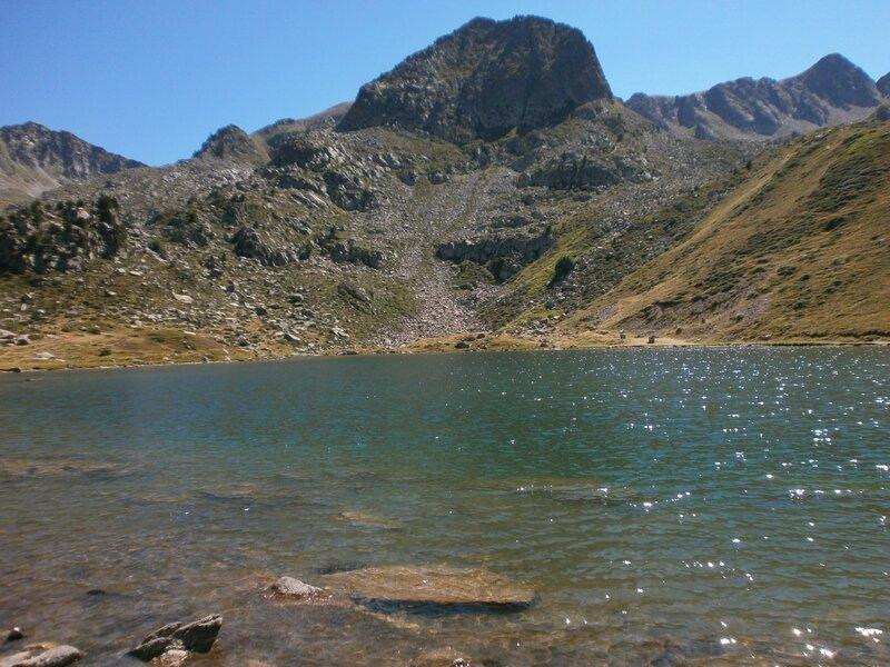 Pic d'Abelette, par le col de l'Isard et le lac d'Abelette (30)