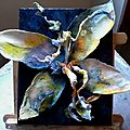 Papillon - mante religieuse - mutation d'insectes - agnès berlingieri