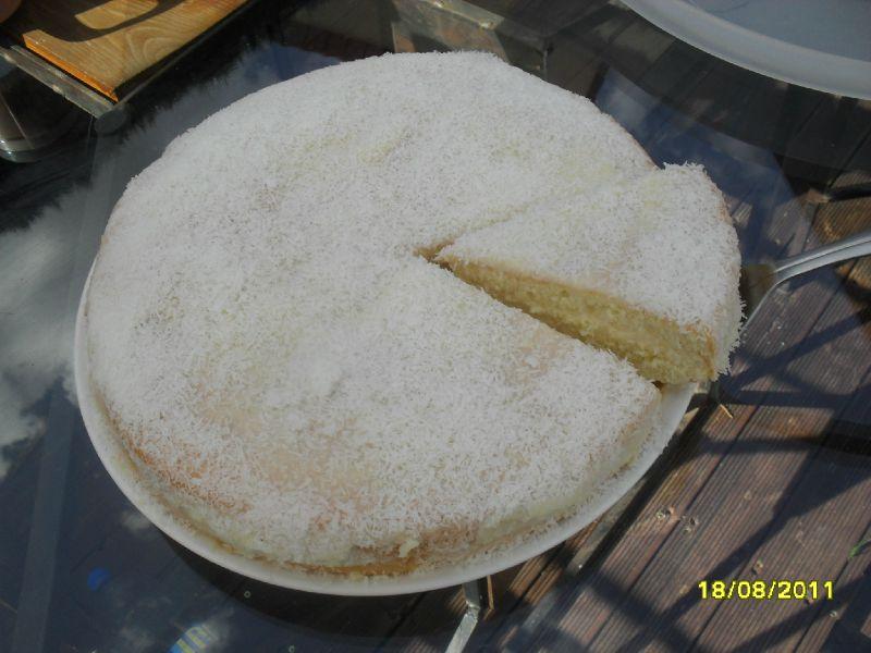 Gâteau à la noix de coco façon Malika